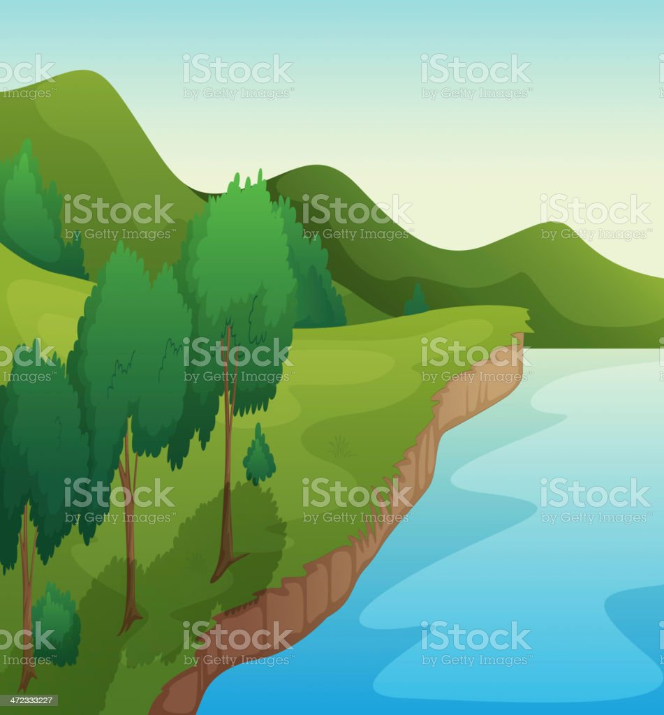 River royalty-free river stock vector art & more images of beauty in nature