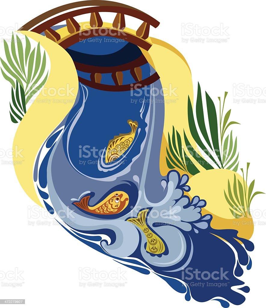royalty free river channel clip art vector images illustrations rh istockphoto com clip art river rapids clip art rivers streams