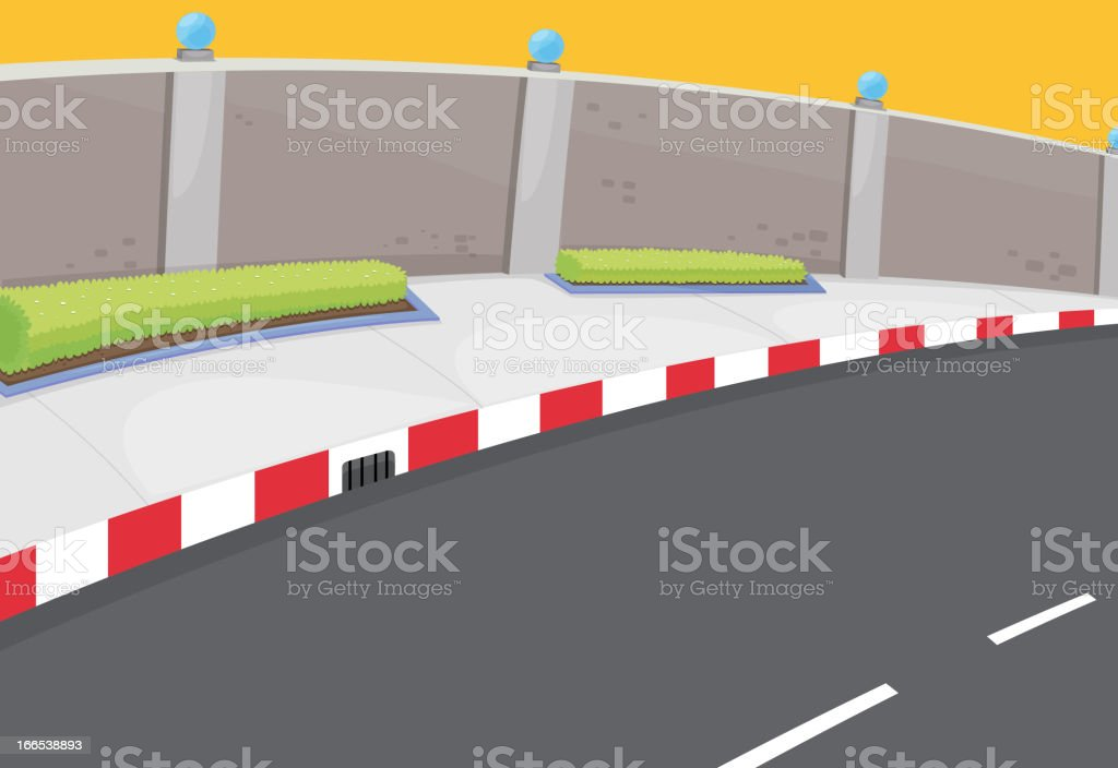 Road background royalty-free road background stock vector art & more images of blank