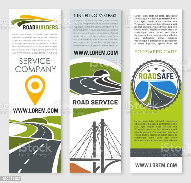 Road banner set with highway bridge and tunnel vector id690251102?b=1&k=6&m=690251102&s=612x612&h=s3t9qamq9zcknrqm5tgssvpwr82zqkwwbz 40oicouw=