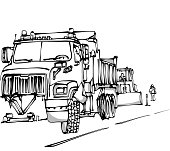 Road Blocked For Maintenance