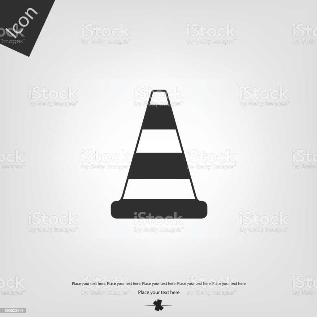 Road cone icon royalty-free road cone icon stock vector art & more images of alertness