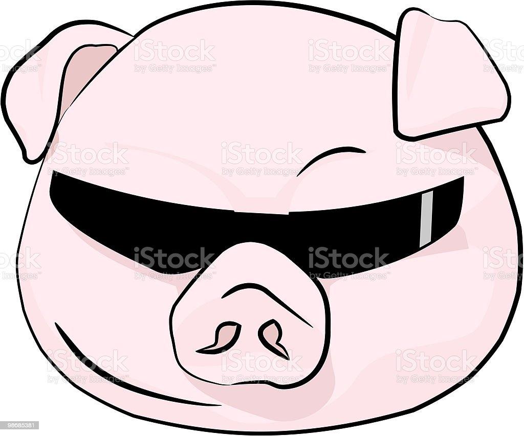 Road Hog (biker) Pig royalty-free road hog pig stock vector art & more images of addiction