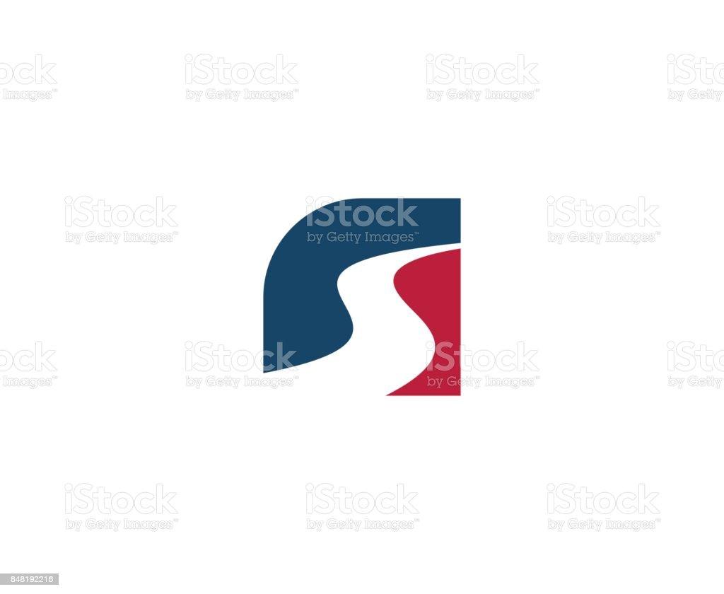 Icono de carretera - ilustración de arte vectorial