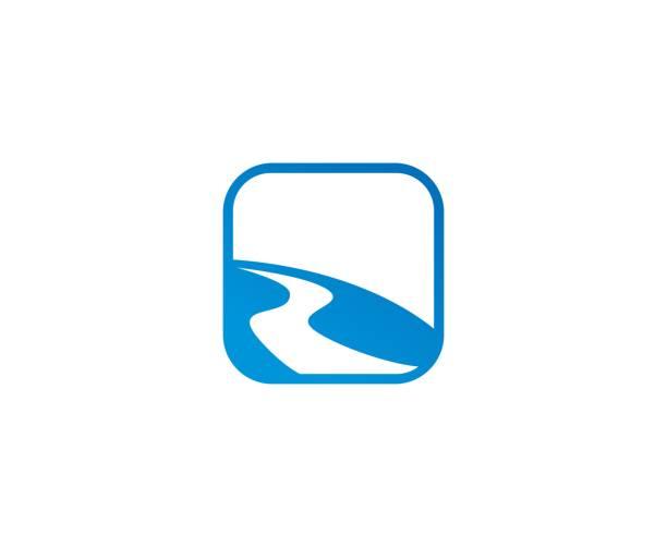 ilustraciones, imágenes clip art, dibujos animados e iconos de stock de icono de carretera - íconos de caminos