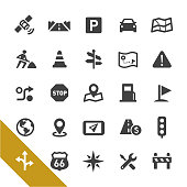 Road Navigation Icons - Select Series