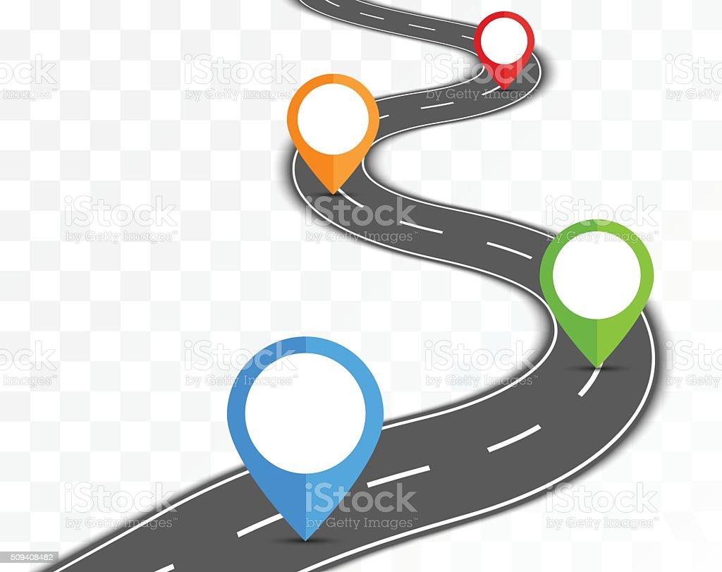 道路 の透明背景 のイラスト素材 509408482 | istock