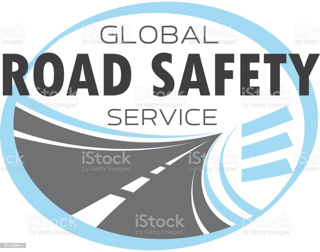Icono de vector de servicio de tecnología de carretera o autopista - ilustración de arte vectorial