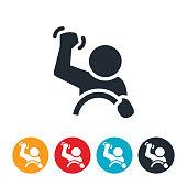 istock Road Rage Icon 1003778722