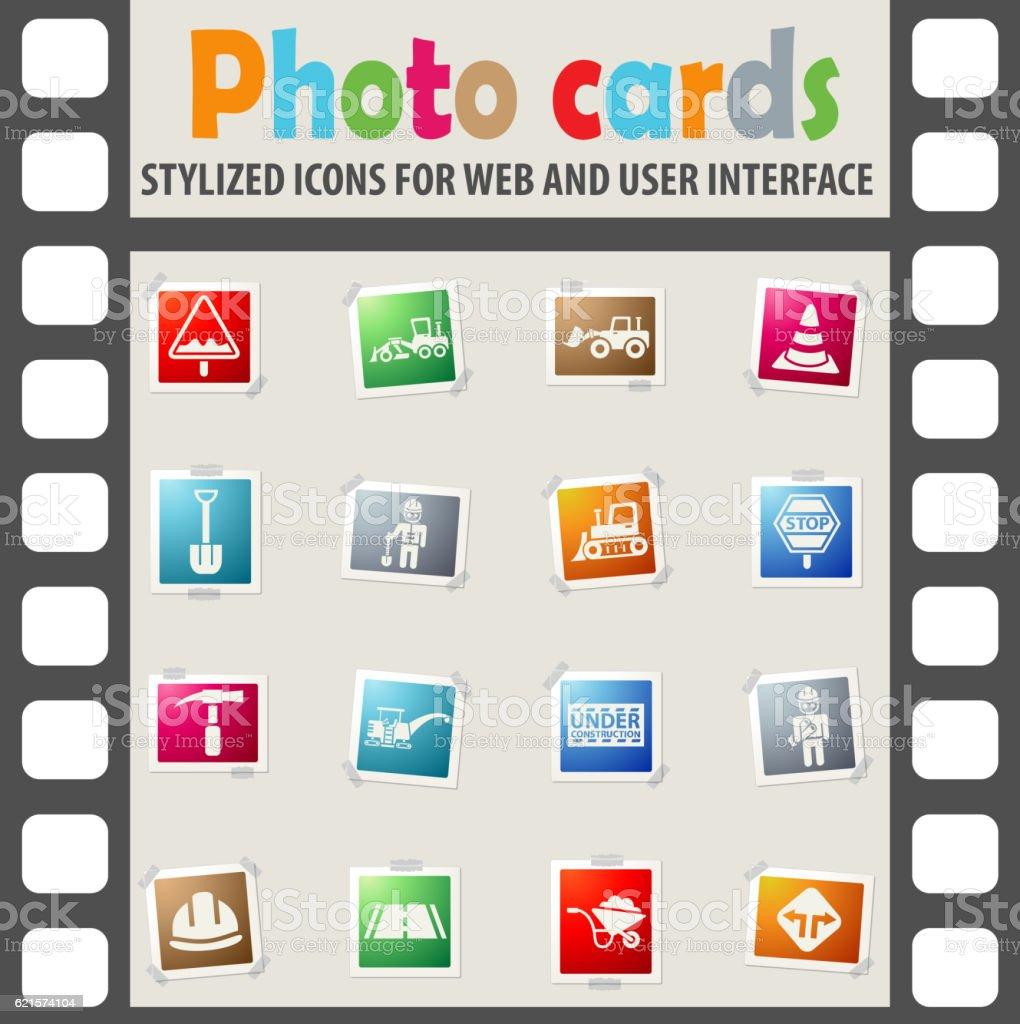 road repairs icon set road repairs icon set – cliparts vectoriels et plus d'images de affaires finance et industrie libre de droits