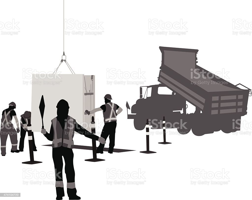Road Safety vector art illustration