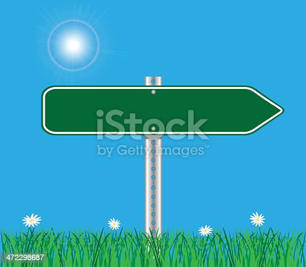 Road Sign Background.