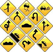 Road Signs -  Collection