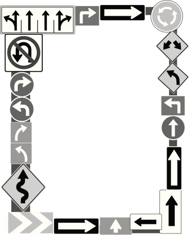 Road Signs Frame