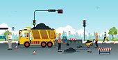 road surface repair