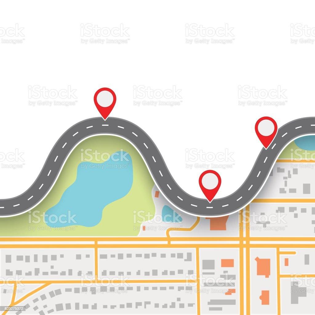 royalty free road map clip art vector images illustrations istock rh istockphoto com roadmap clipart free roadmap clipart