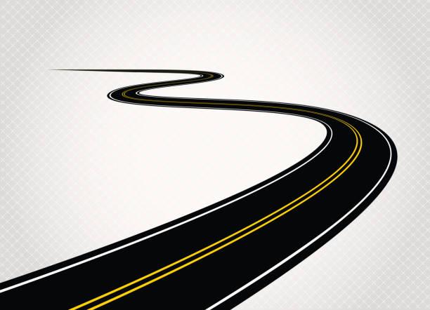 ilustrações de stock, clip art, desenhos animados e ícones de estrada - driveway, no people