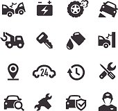 Roadside Services Icons - Acme Series