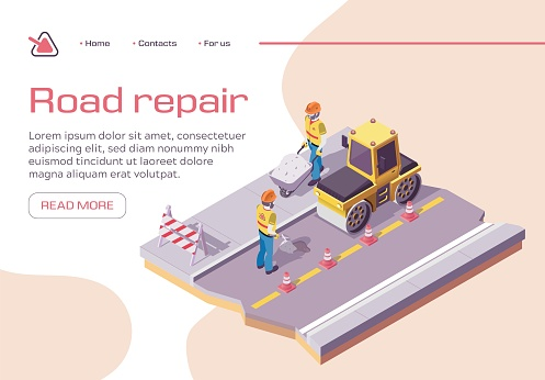 Roadwork and Asphalt Paving Pavement Compactor