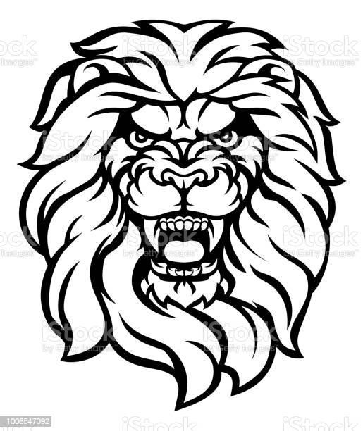 Roaring lion head illustration vector id1006547092?b=1&k=6&m=1006547092&s=612x612&h=ce2y hcozhlbkujkmdvm3mzxcgxv8 6xiykxduvbgt0=