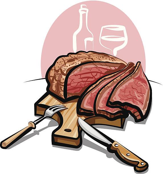 roast beef - roastbeef stock-grafiken, -clipart, -cartoons und -symbole