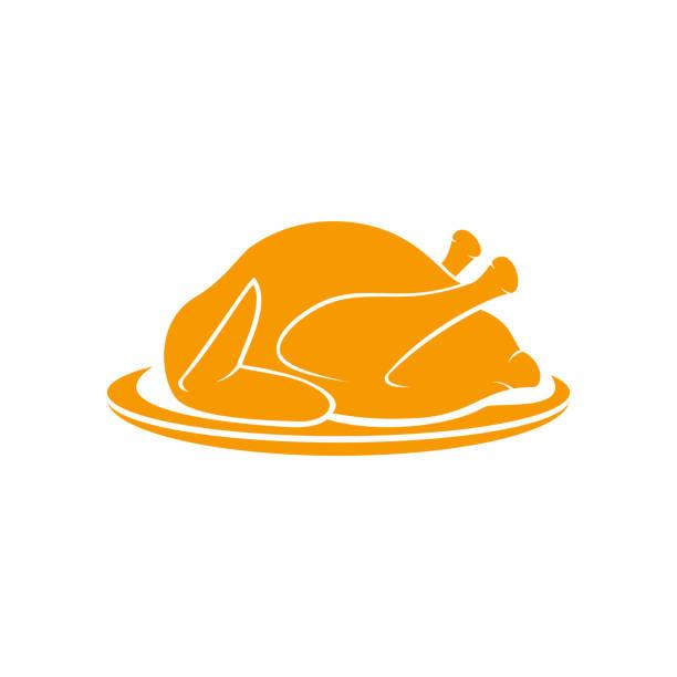 ilustrações de stock, clip art, desenhos animados e ícones de peru assado - inteiro