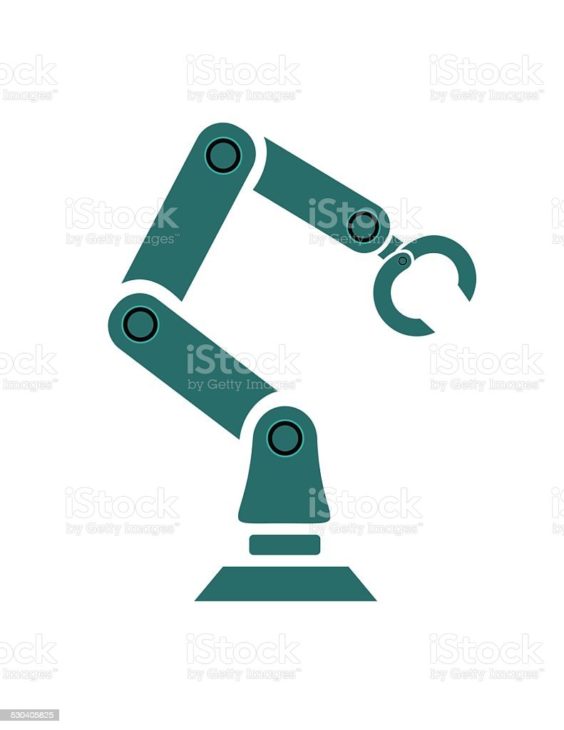 Robo Arm - Illustration vector art illustration