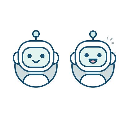 Robot avatar icon
