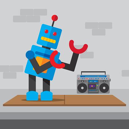 Robot Breakdance
