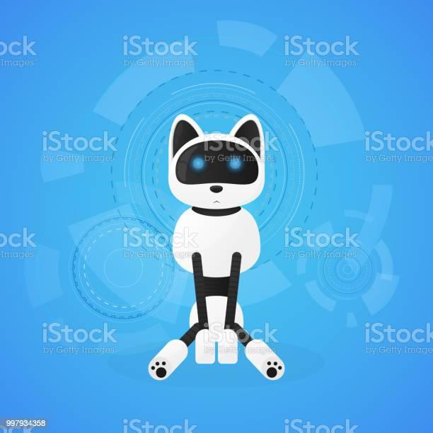 Robot cat animal machines working automatically interactive computer vector id997934358?b=1&k=6&m=997934358&s=612x612&h=yyrxovdrzilo9ccjmswizn9d mmajgwymcbfag0cigo=