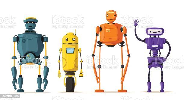 Robot character technology future cartoon vector illustration vector id696651080?b=1&k=6&m=696651080&s=612x612&h=ja6hnv8wnd3dgeivg6n xps4nhunjyll5vb jn0x1bg=