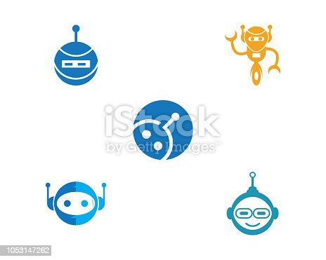 Robot icon vector illustration design