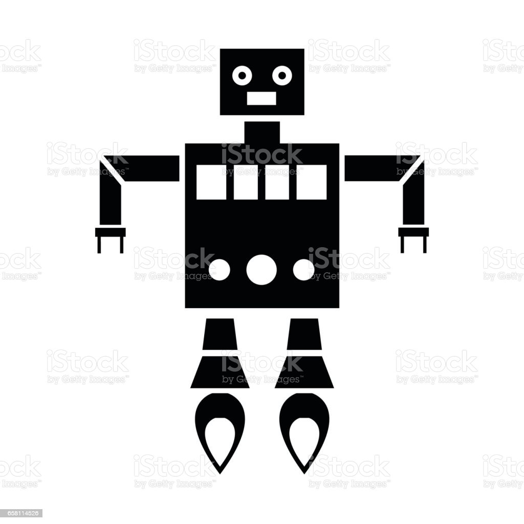 robot icons royalty-free robot icons stock vector art & more images of arm
