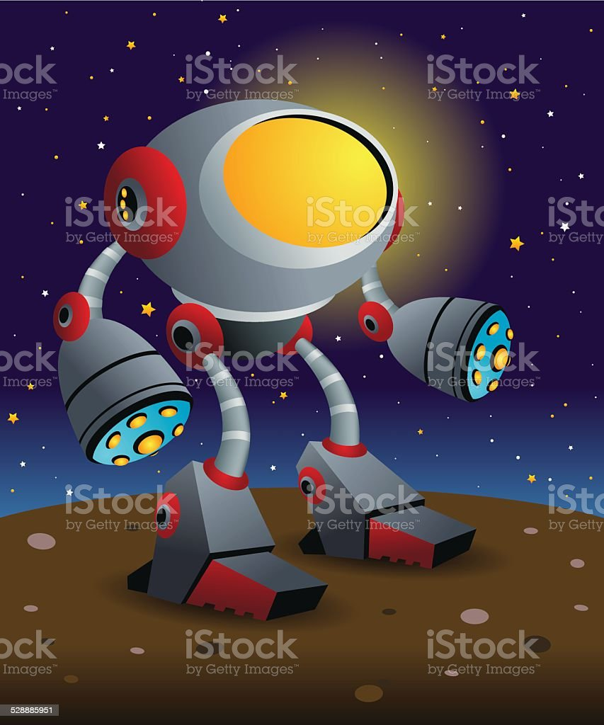 Robot in the Dark royalty-free robot in the dark stock vector art & more images of alien