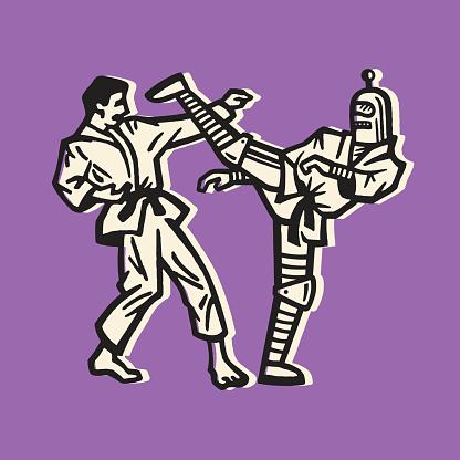 Robot Karate