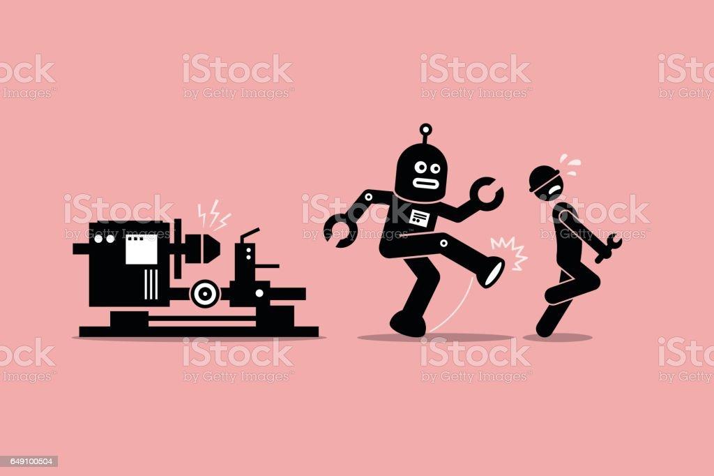 """Résultat de recherche d'images pour """"robots et travail humain"""""""
