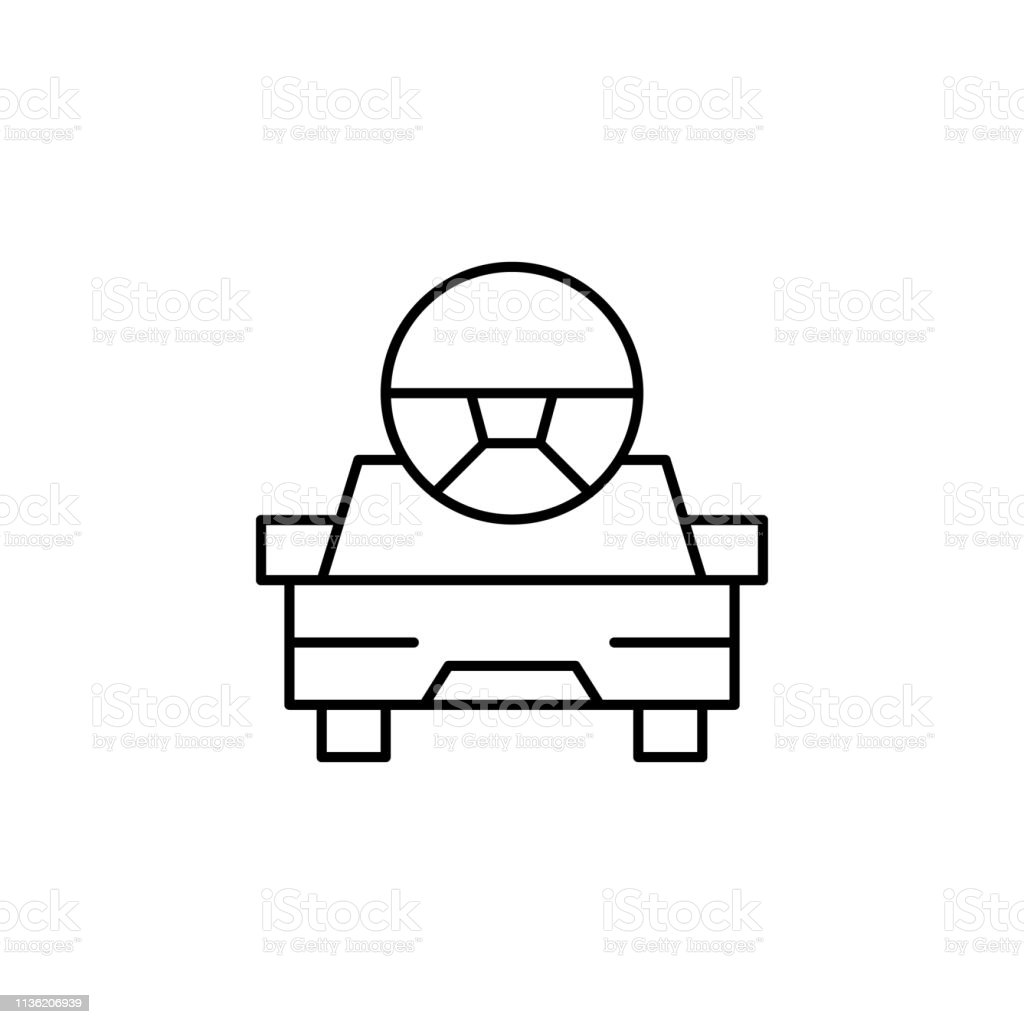 Robotics Car Robot Outline Icon Signs And Symbols Can Be