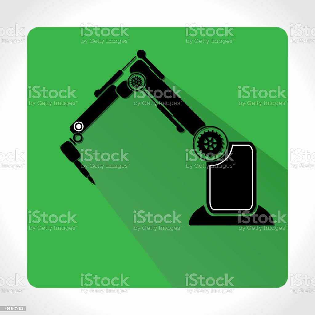 Robotics Icon App Stock Vector Art & More Images of