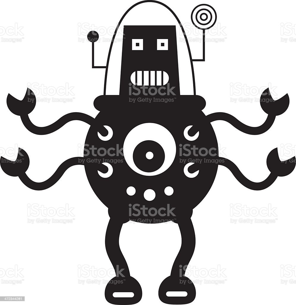 RobotKbw royalty-free robotkbw stock vector art & more images of alien