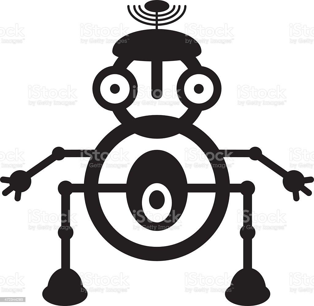 RobotMbw royalty-free stock vector art