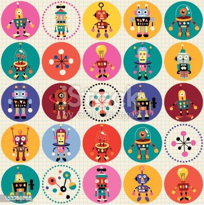 istock robots pattern 153256288