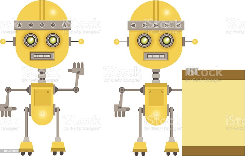 Robots royalty-free robots stock vector art & more images of copy space