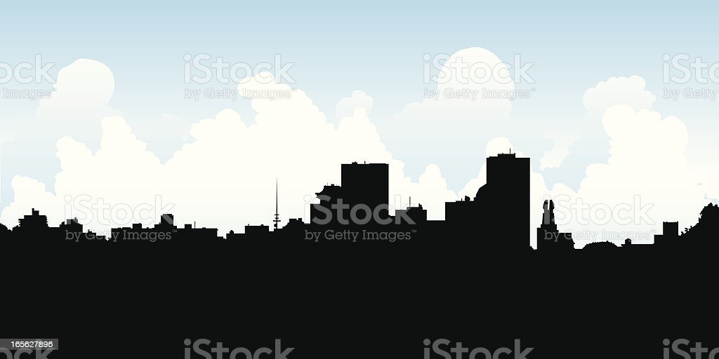 rochester ny skyline stock vector art more images of backgrounds