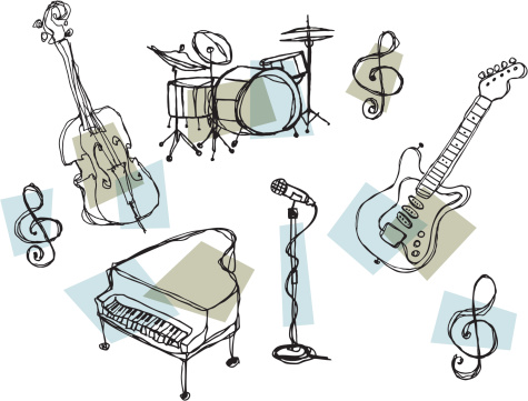 Rock and Jazz Instruments