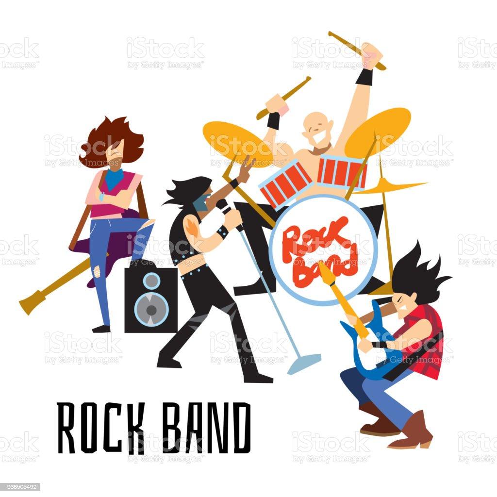 ミュージシャンとロック バンド...