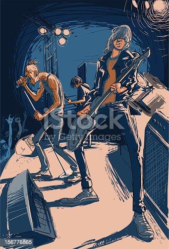 istock Rock Band 156776865