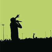Rock Concert Silhouette #01