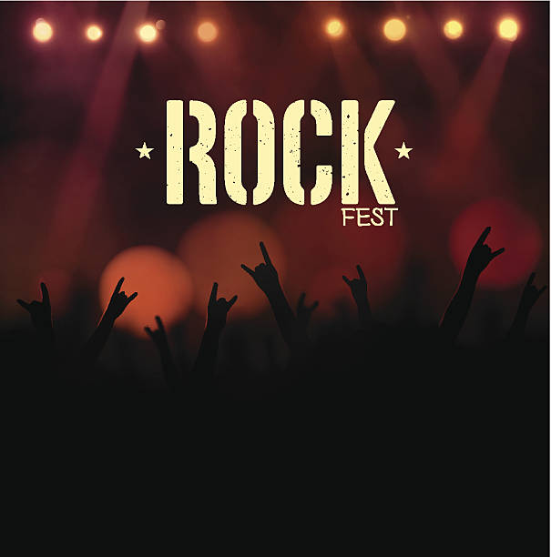 Rock Festival - Illustration vectorielle