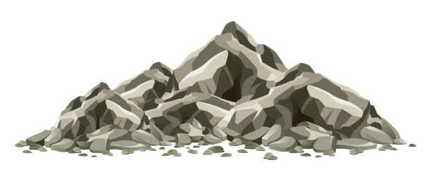 rock formation - rock formations stock illustrations