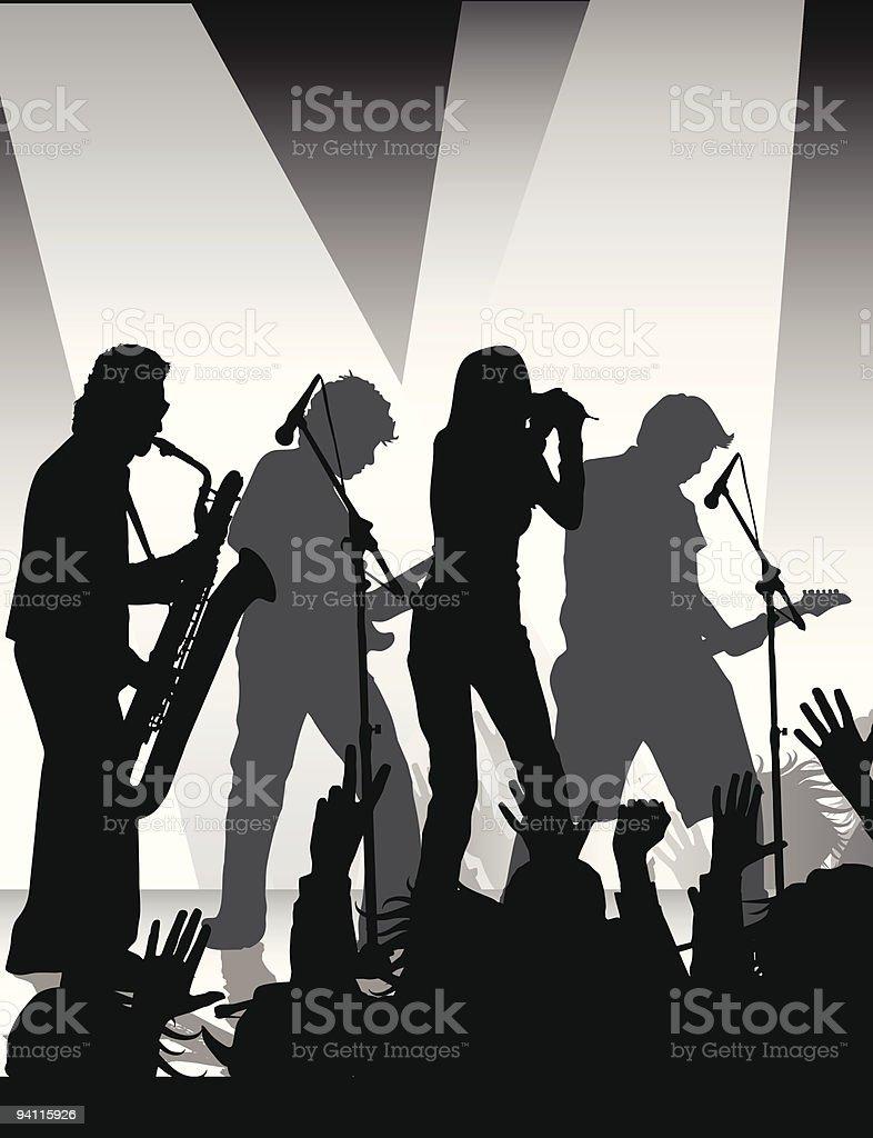 rock jam royalty-free stock vector art